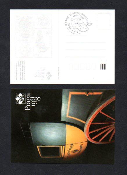 50 let pošty Praha 022, 15.9.1998 (č.14)
