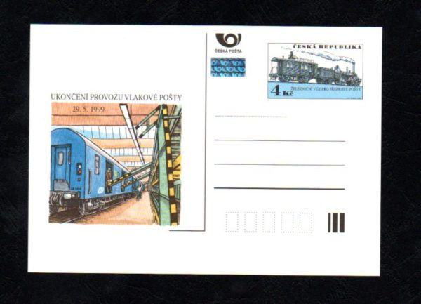 Ukončení provozu vlakové pošty, 29.5.1999 (č.17)