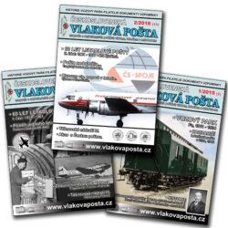 Časopis Vlaková pošta (tištěný)